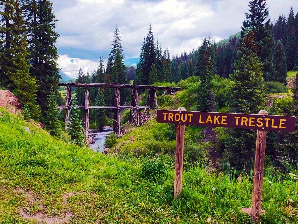 Trout Lake Trestle Ophir CO