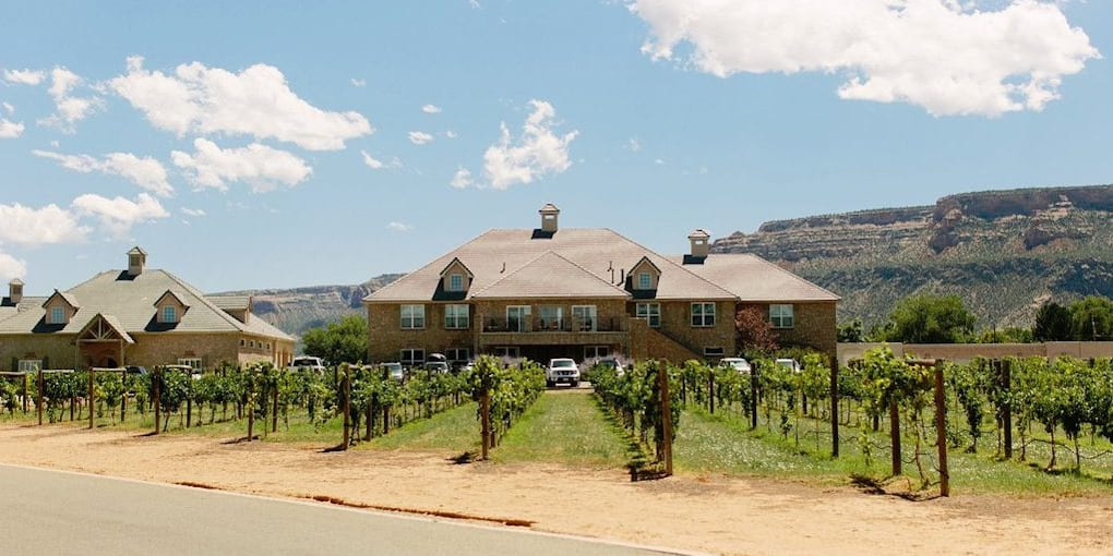 image of two rivers winery Grand Junction CO