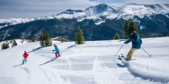 image of Skiers at Winter Park Ski Resort