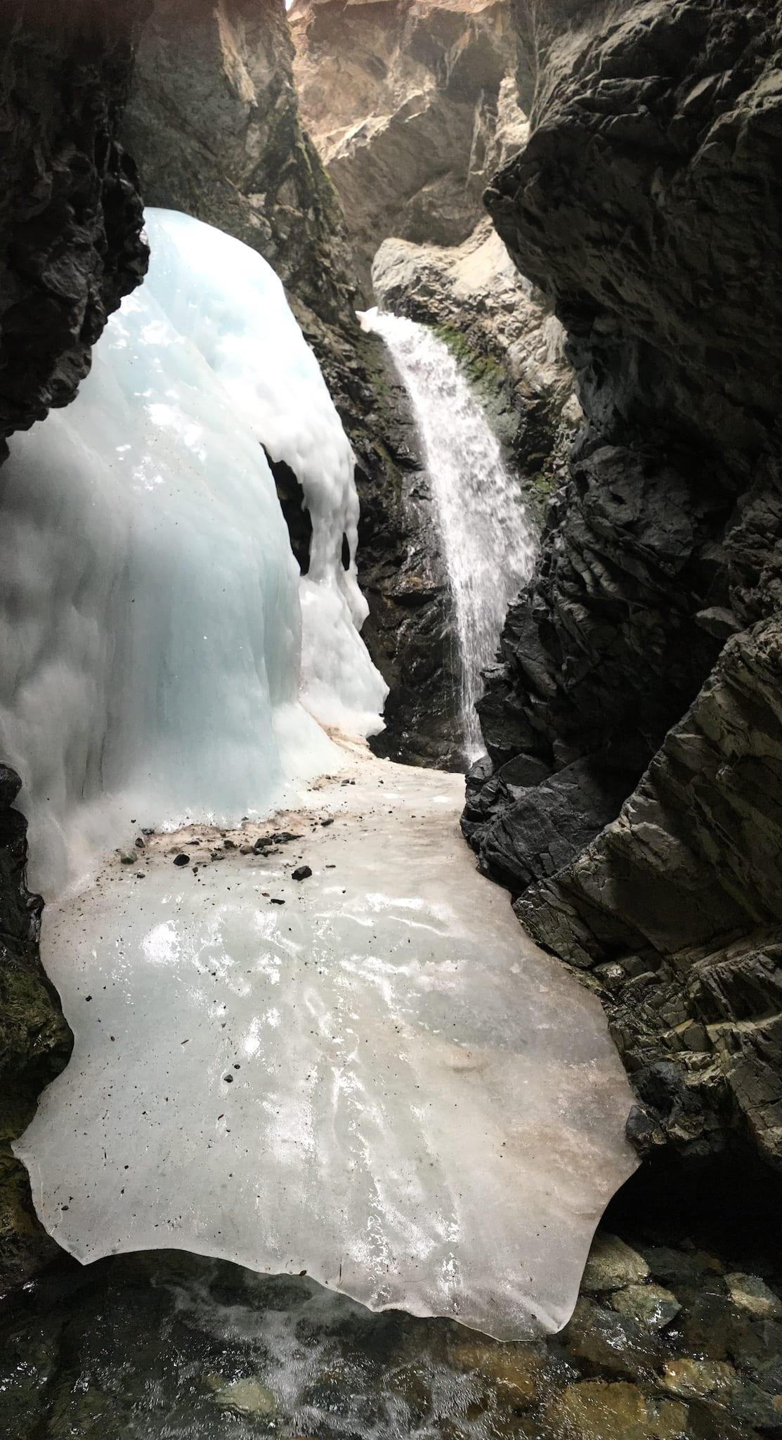 Zapata Falls Winter Ice