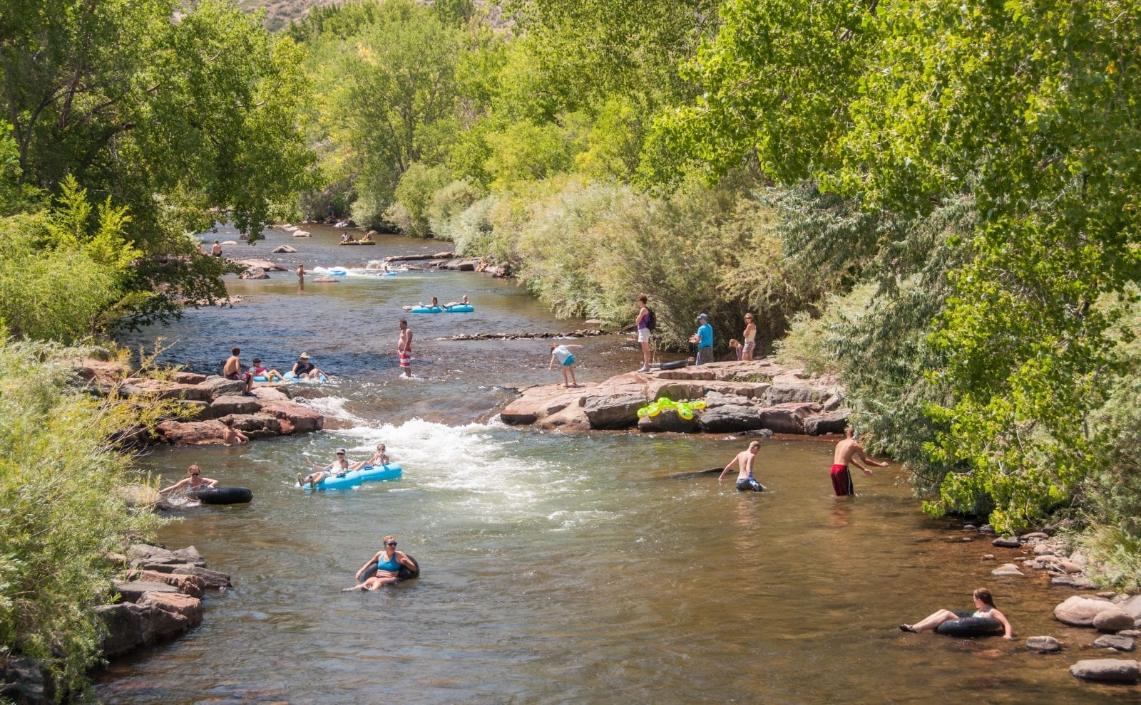 Clear Creek White Water Park, CO