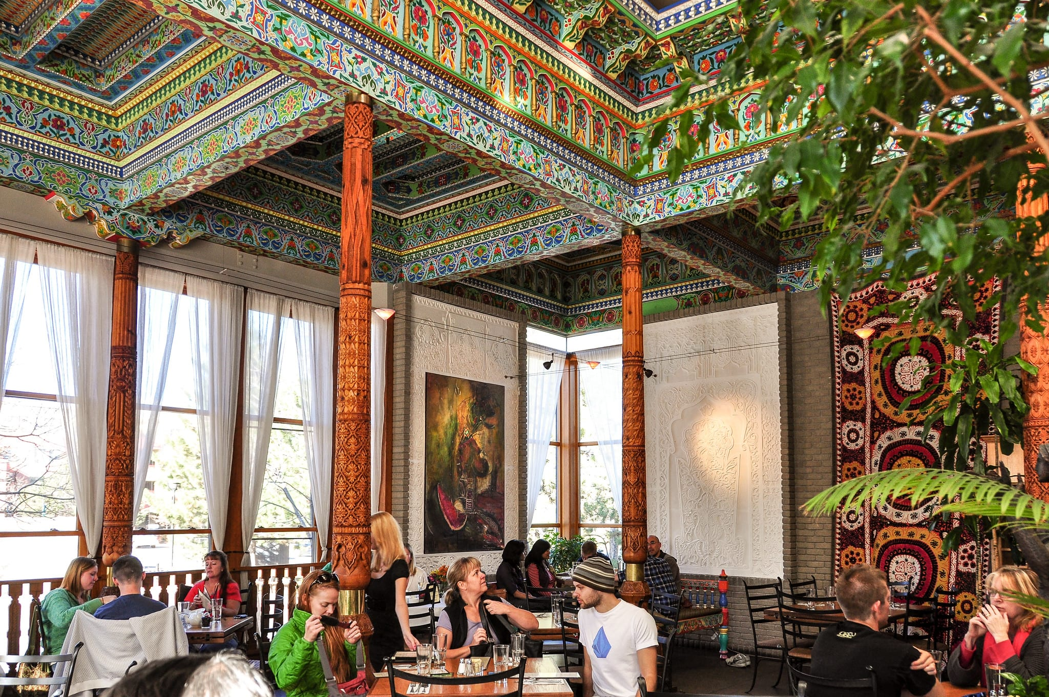 image of dushanbe teahouse