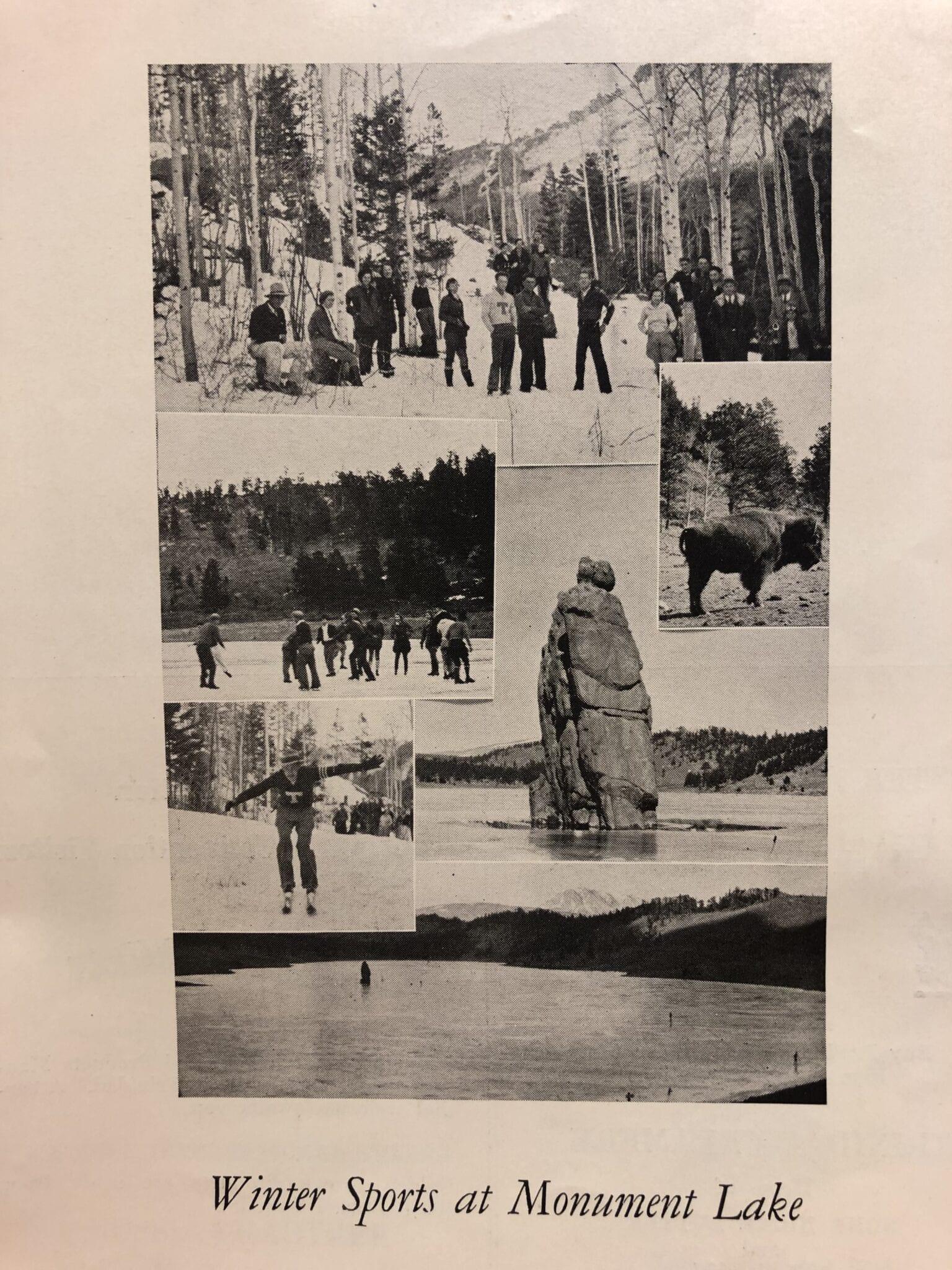1934 Historic Monument Lake Weston Colorado