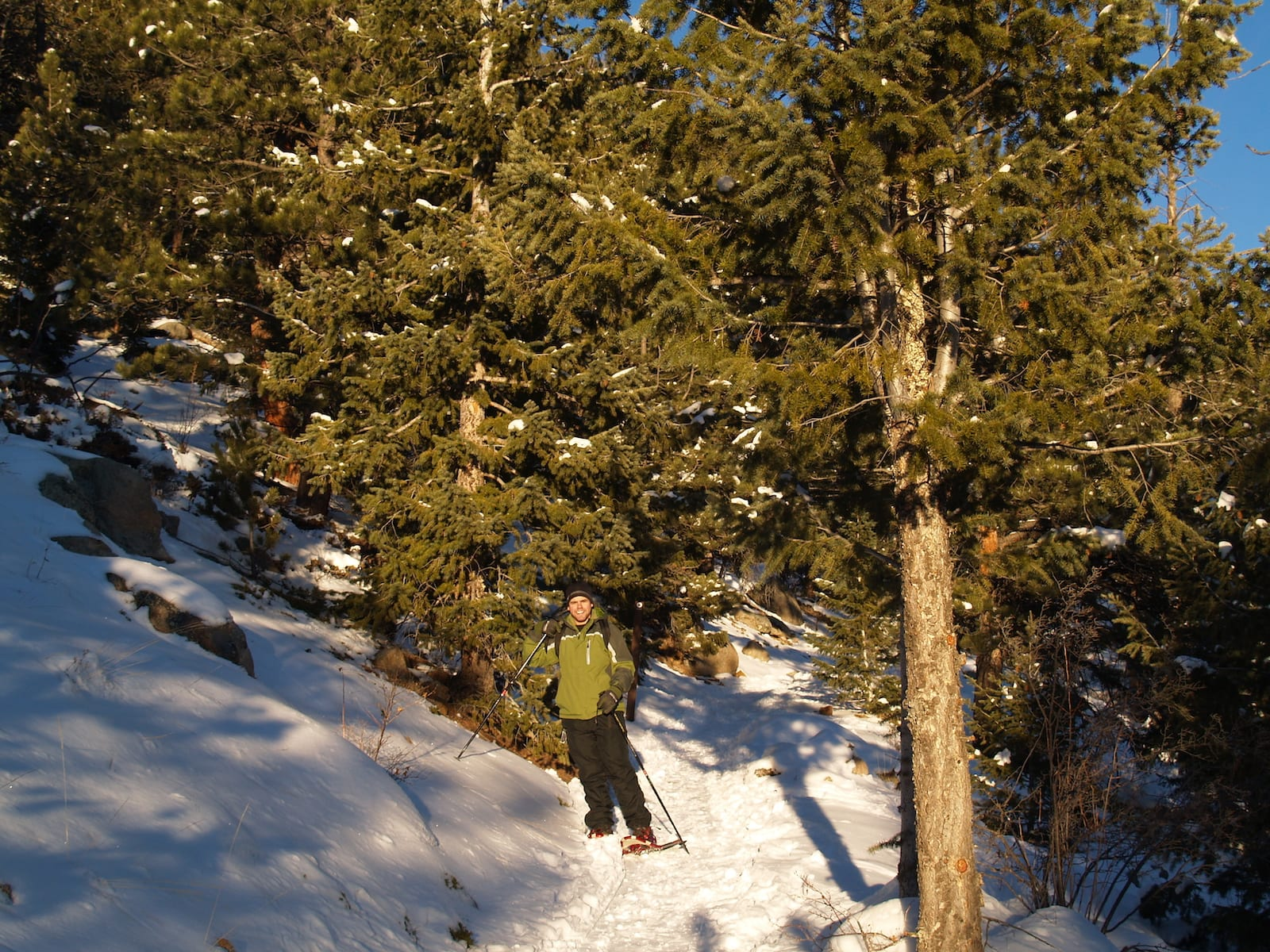 Snowshoeing in Golden Gate Canyon State Park, CO