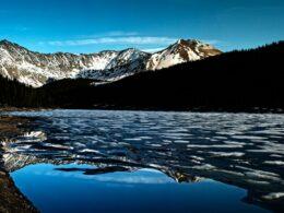 Clinton Gulch Dam Reservoir Colorado