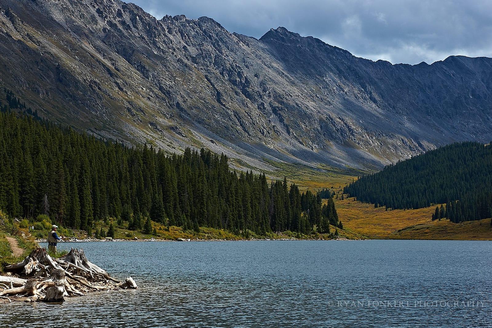 Clinton Gulch Reservoir Fishing Colorado