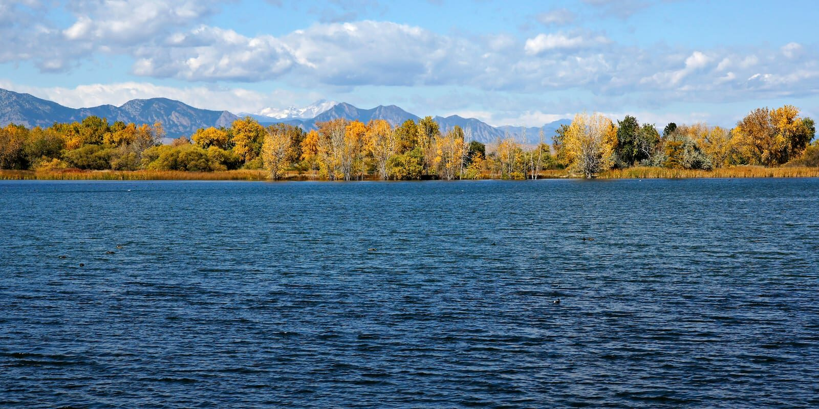Crown Hill Lake Colorado Autumn