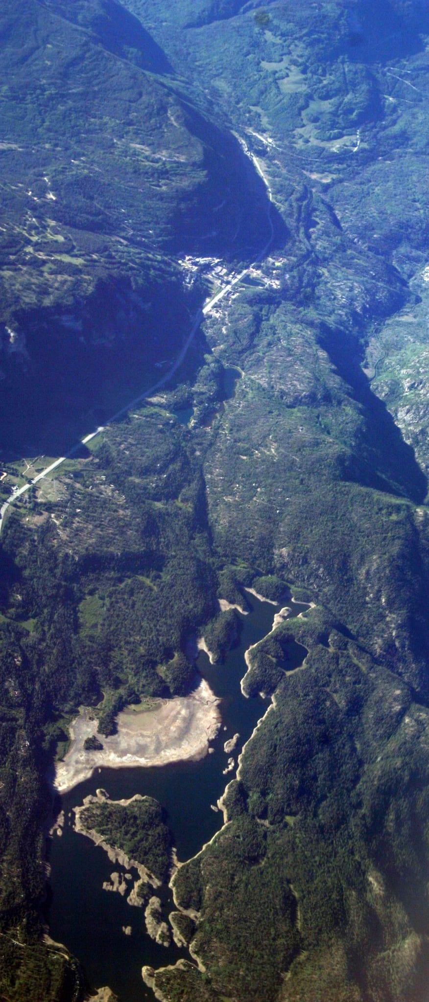 Electra Lake Colorado Aerial View