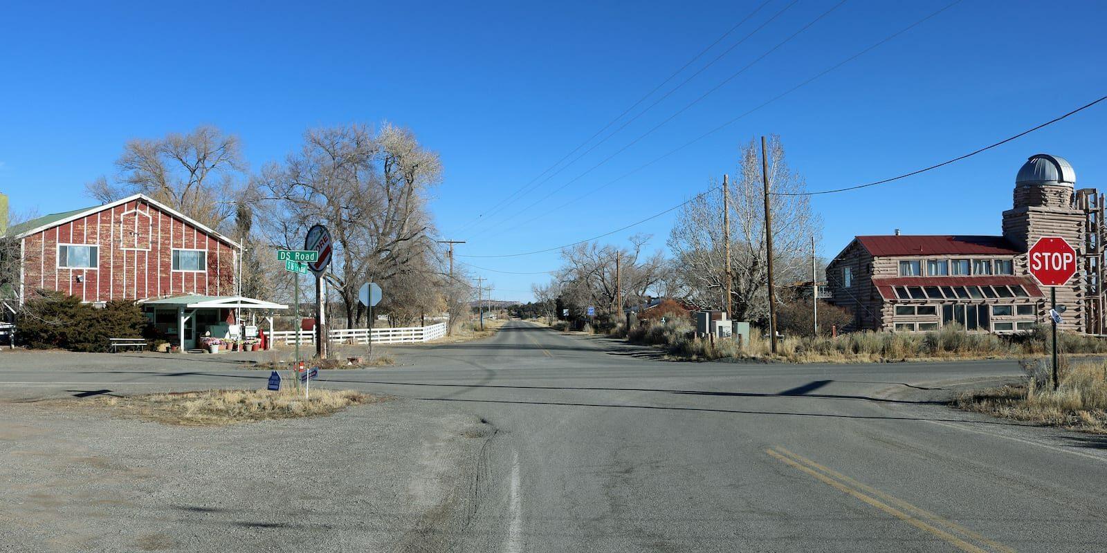 Glade Park CO Main Crossroads