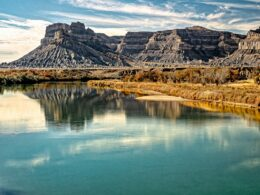 Image of the Green River near Battleship Butte, Utah