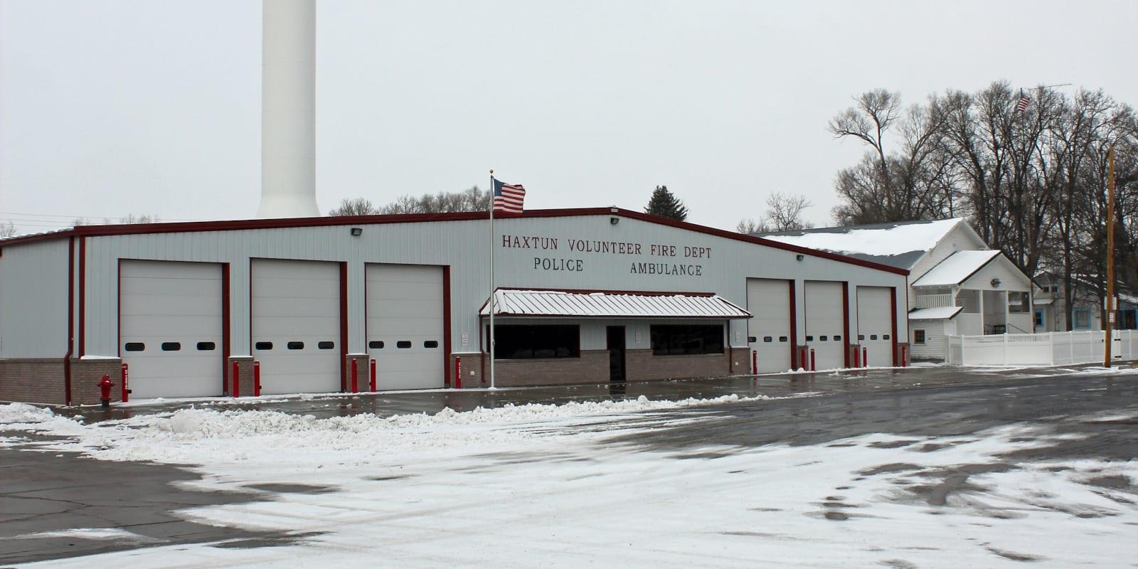 Haxtun Colorado Fire Station