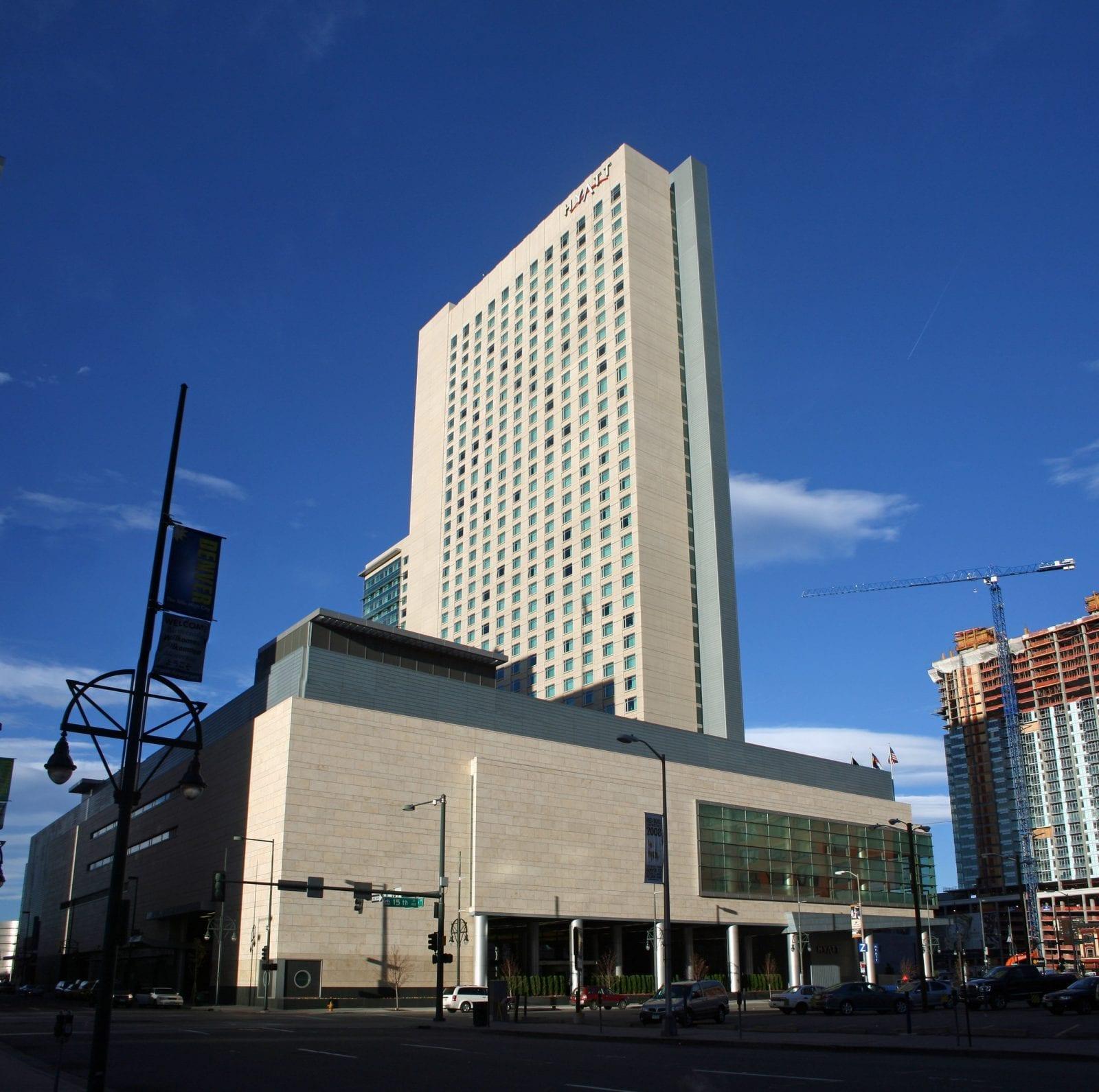 Image of the Hyatt Regency in Denver, Colorado