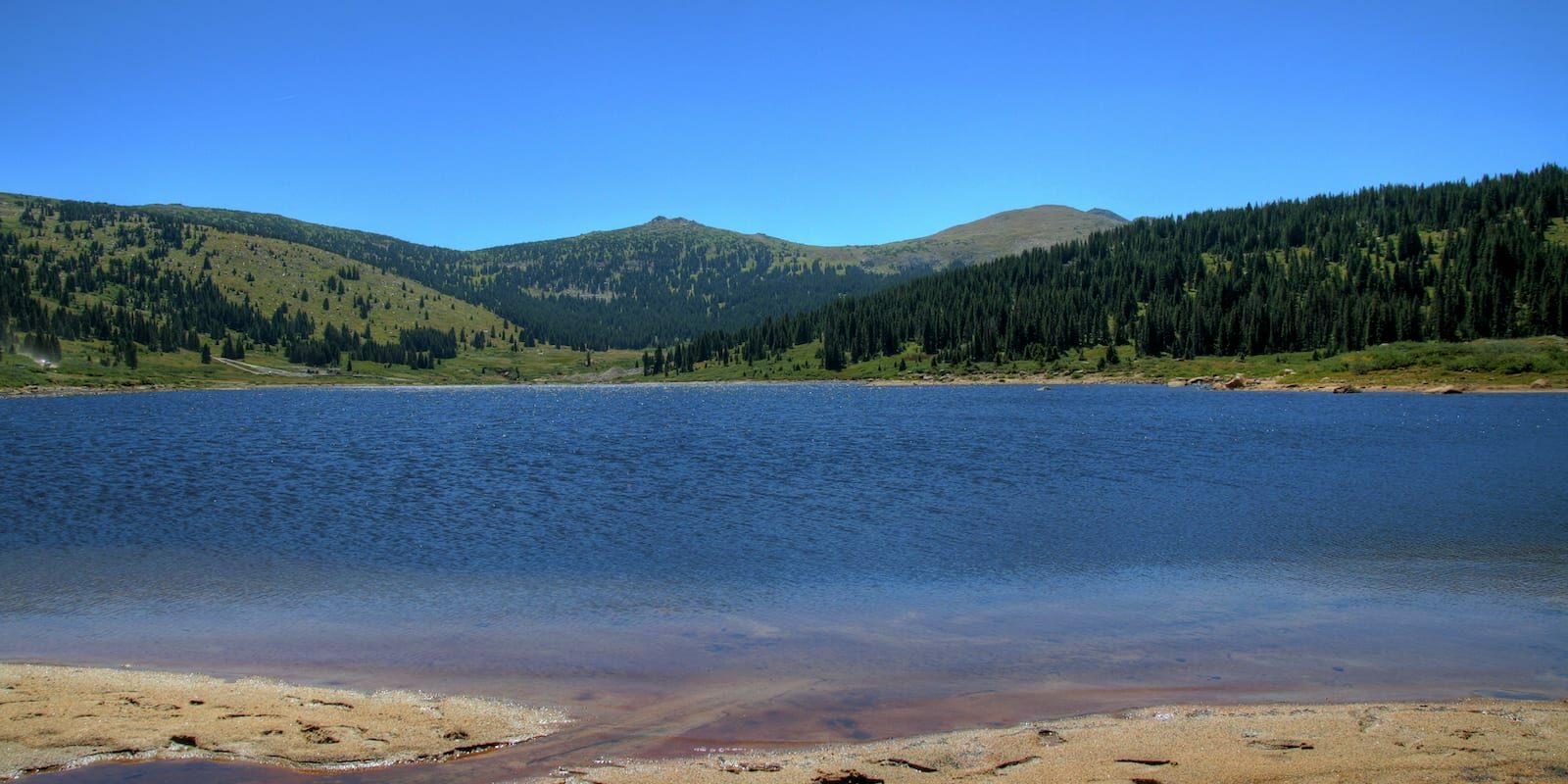 Ivanhoe Lake Leadville CO