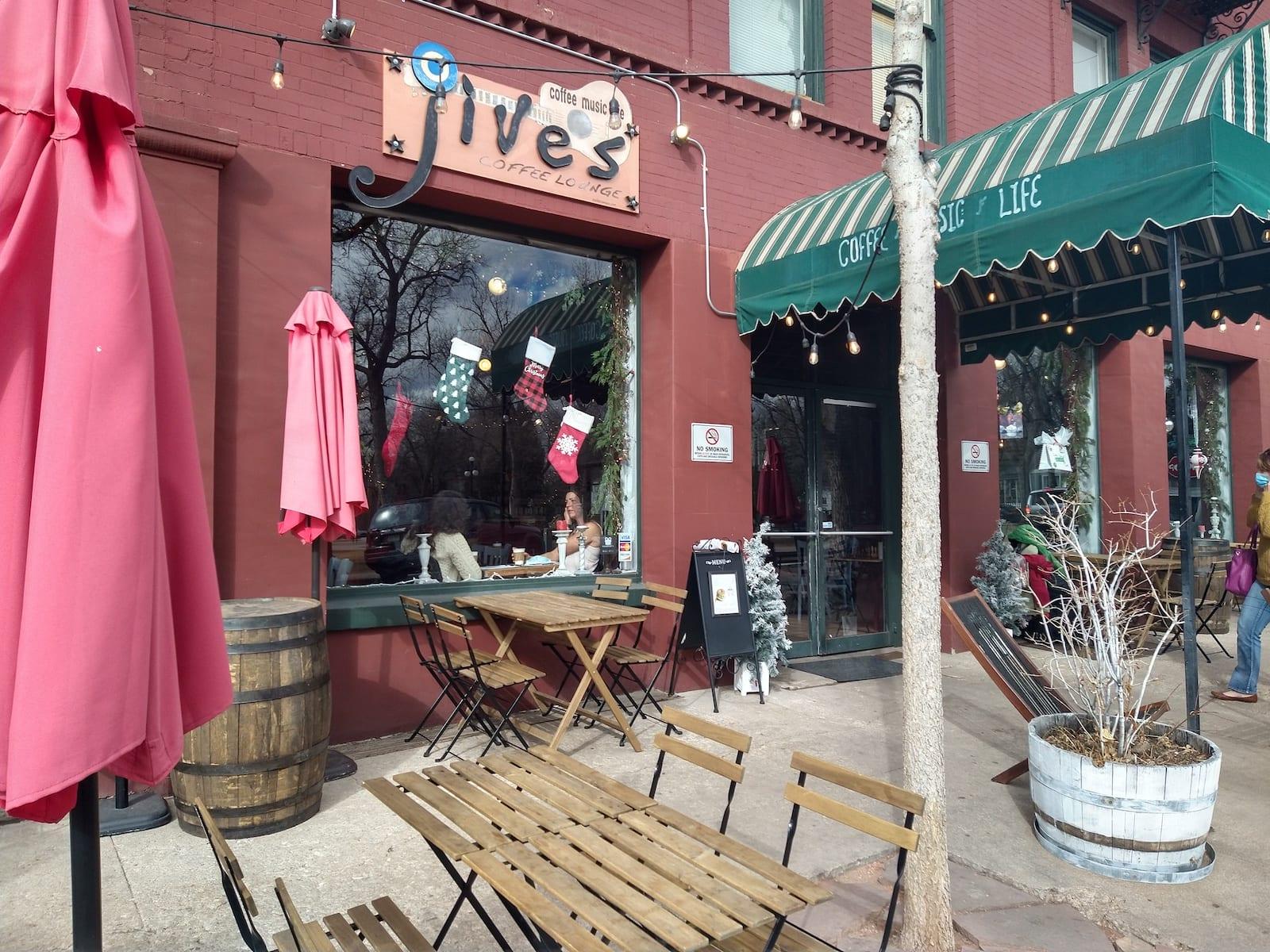 Jives Coffee Lounge Colorado Springs