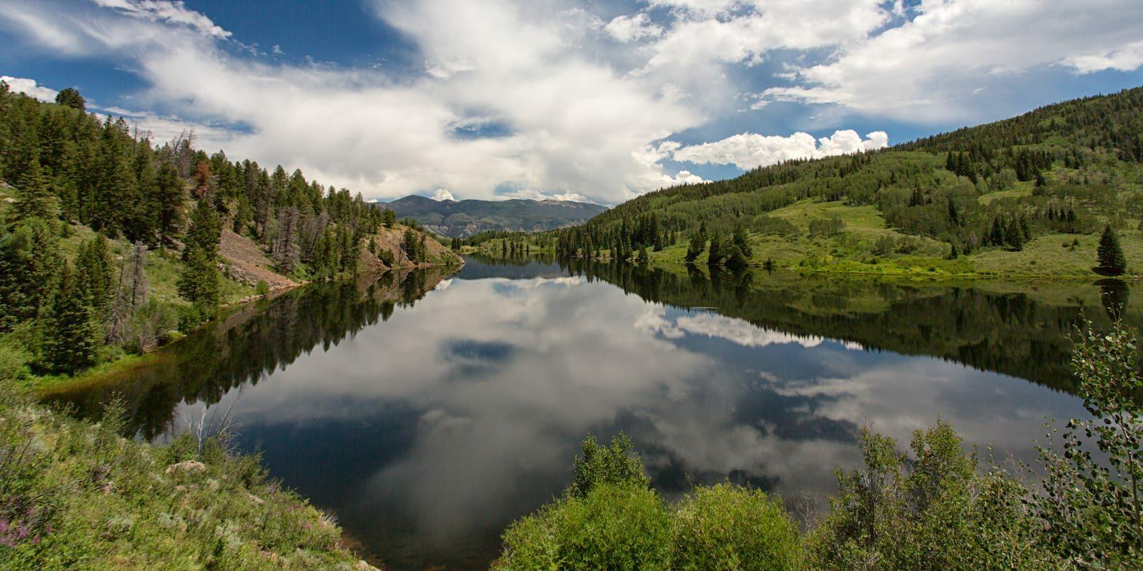 Lower Cataract Lake, Summit County Colorado