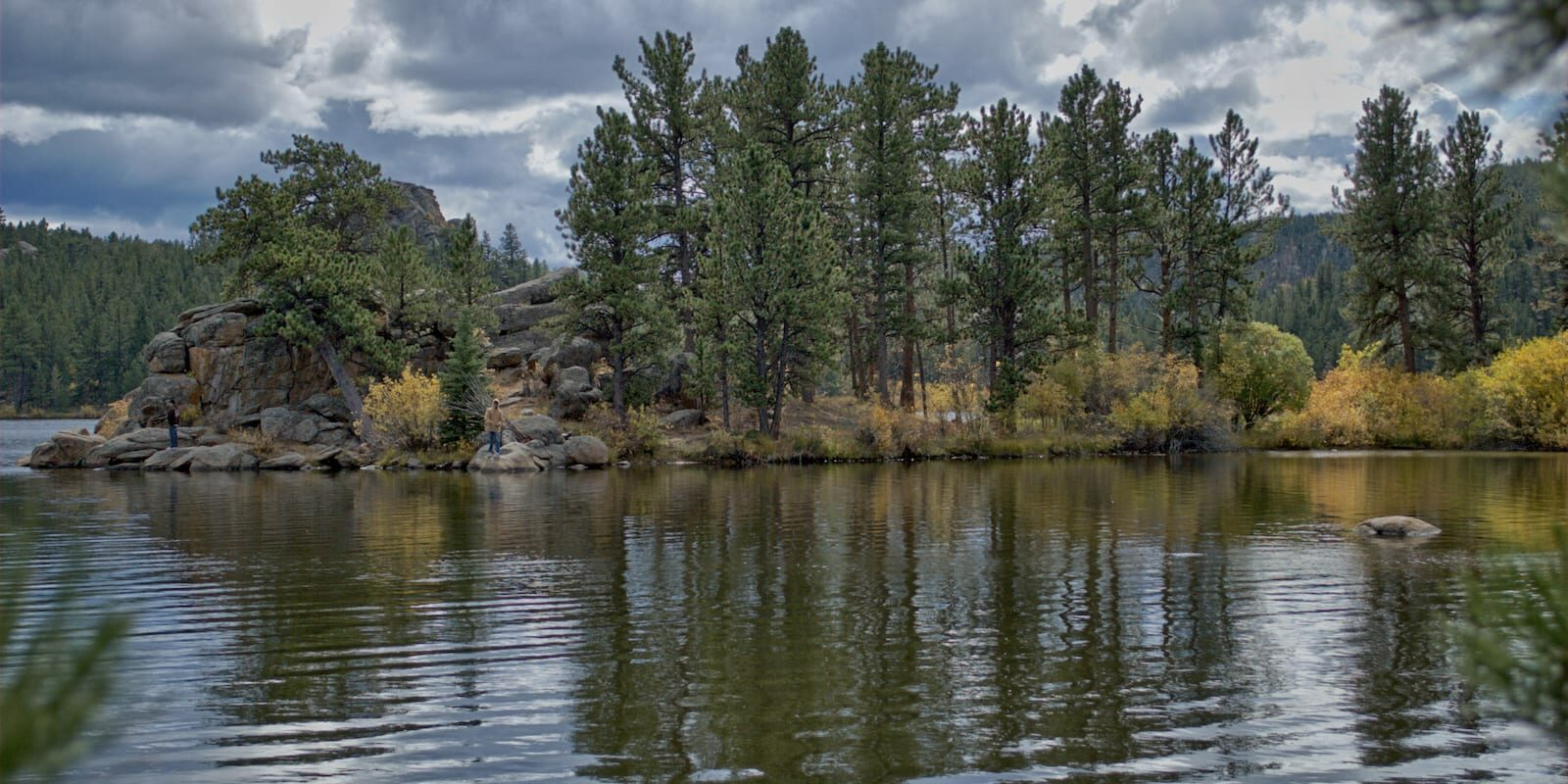 Parvin Lake Red Feather Lakes, CO