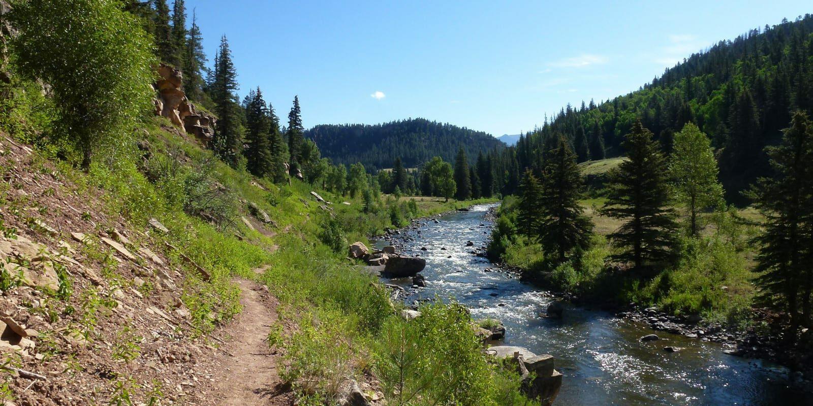 Image of the Piedra River in Colorado