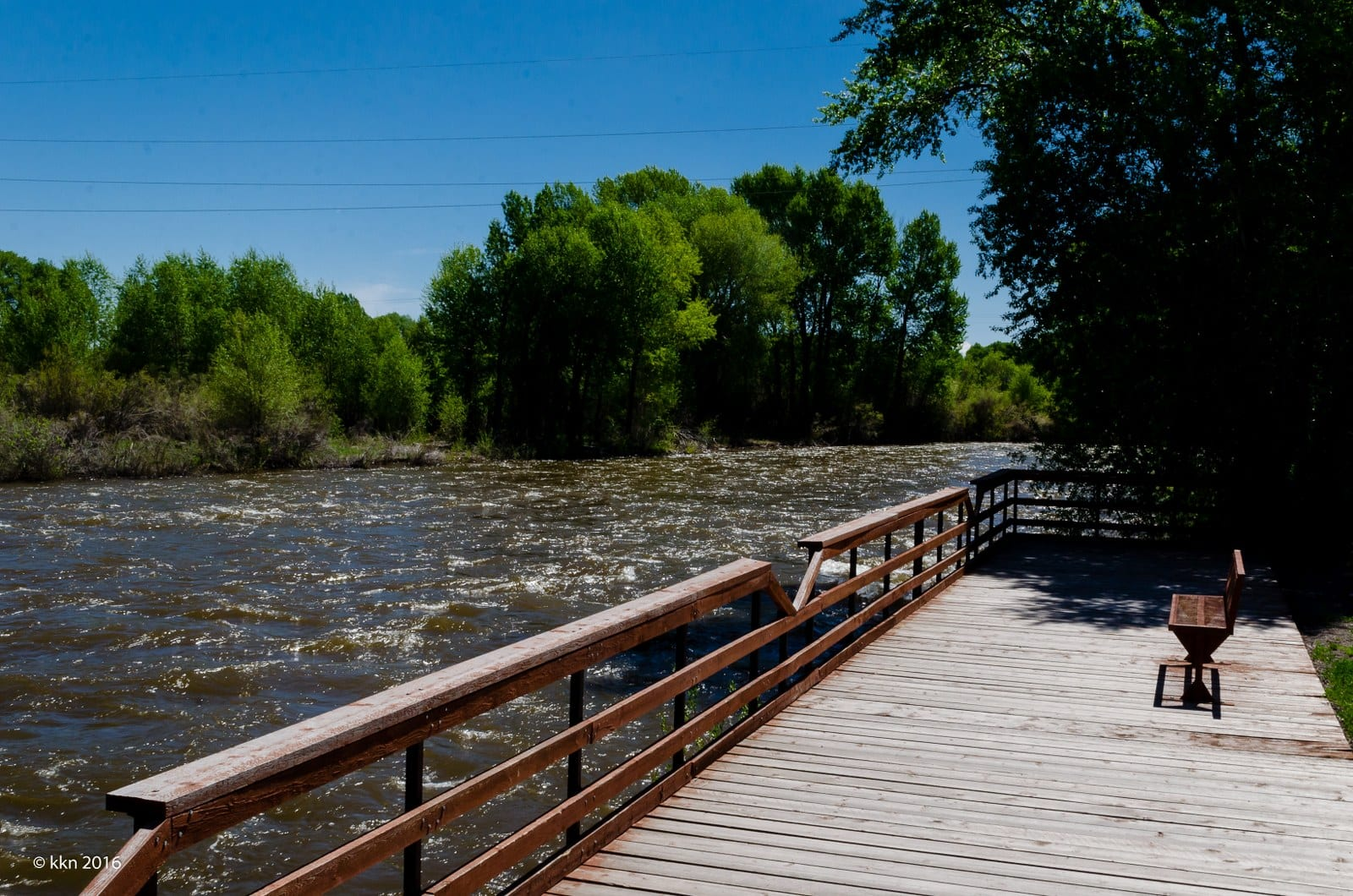 Image of a lookout point on the Rio Grande