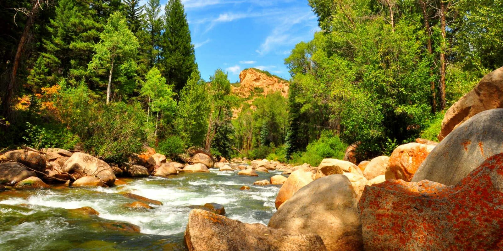 Image of Roaring Fork River in Colorado near Aspen