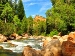 Image of Roaring Fork River in Colorado near Aspen