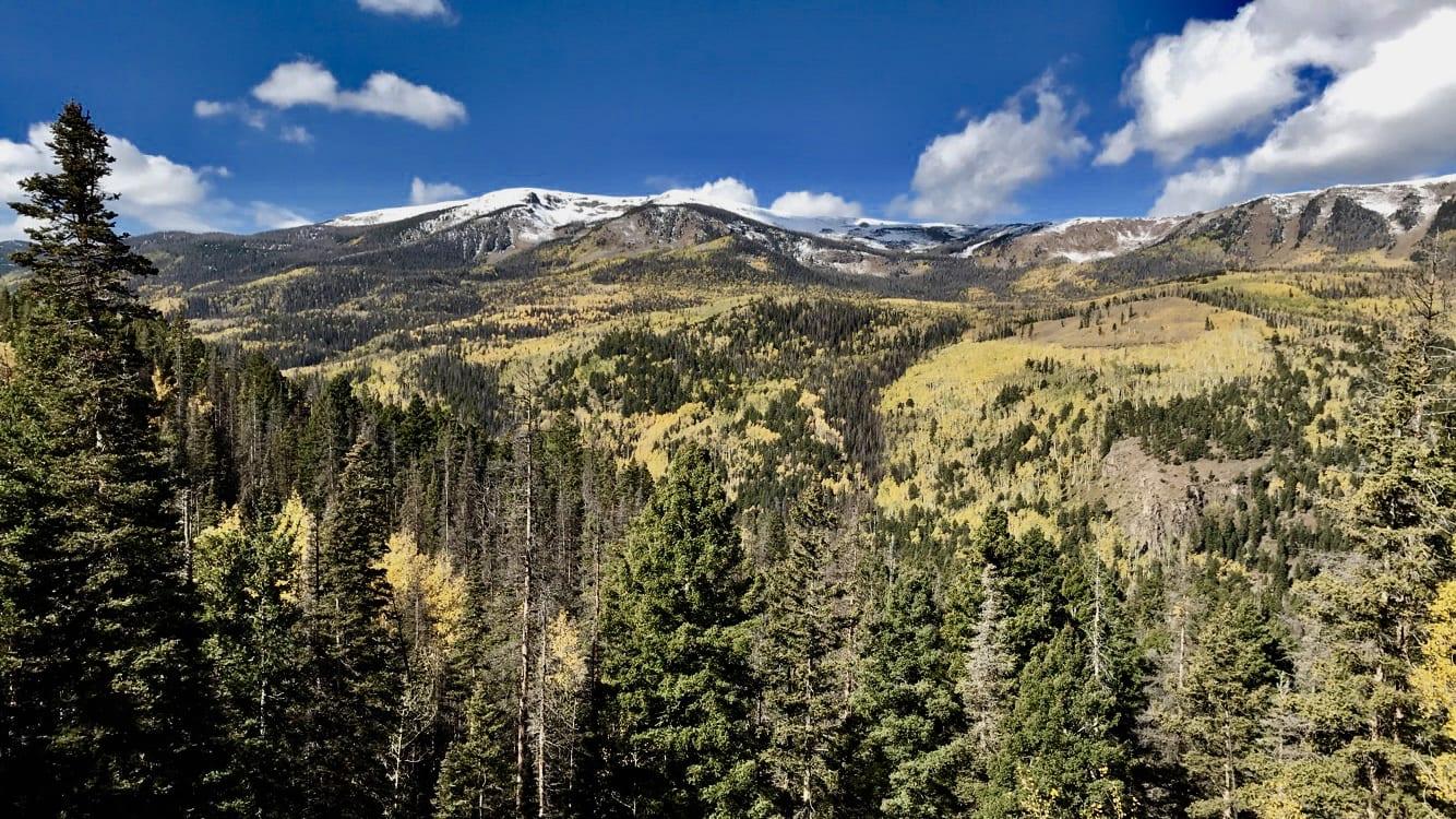 Del Norte CO San Juan Mountains in Autumn