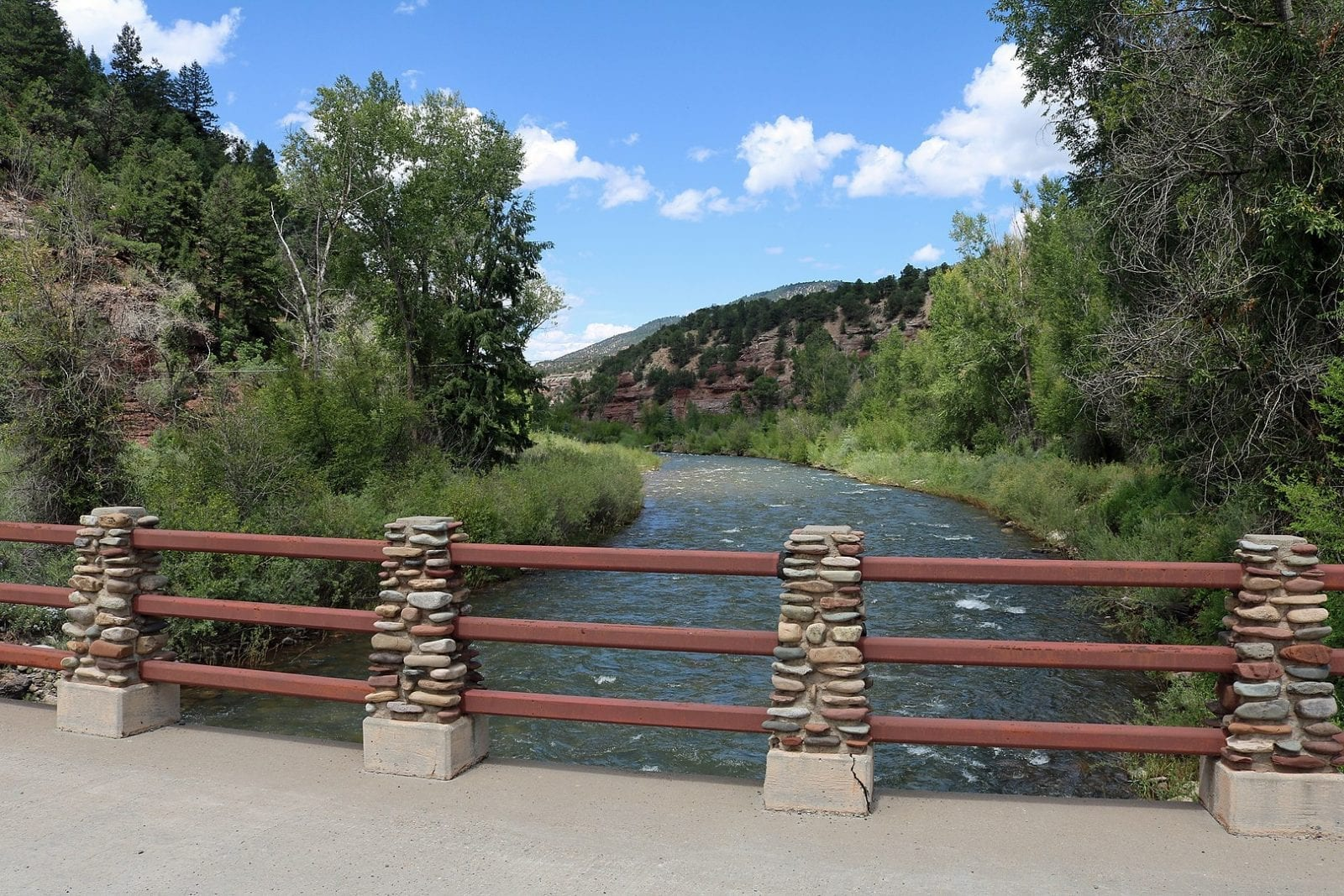Image of the San Miguel River in Placerville in Colorado