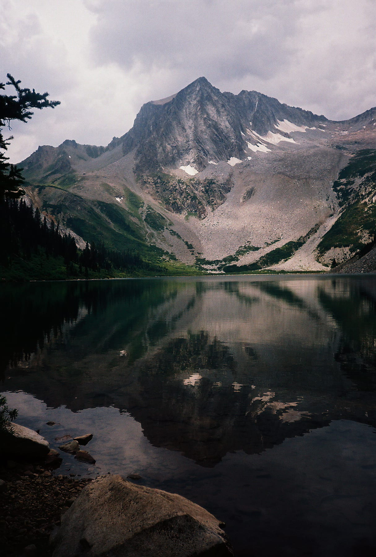 Snowmass Lake Colorado Portrait