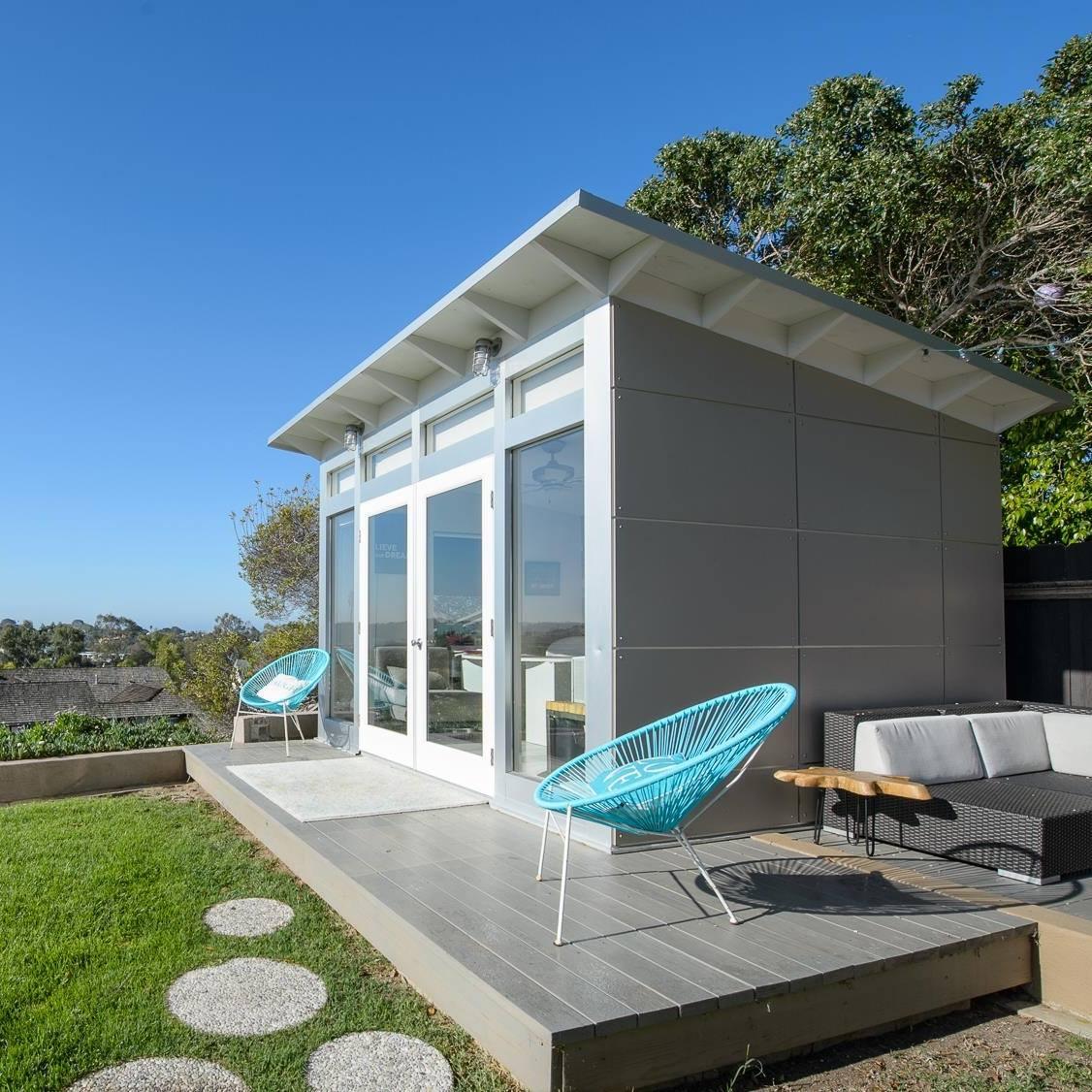 Image of a backyard Studio Shed