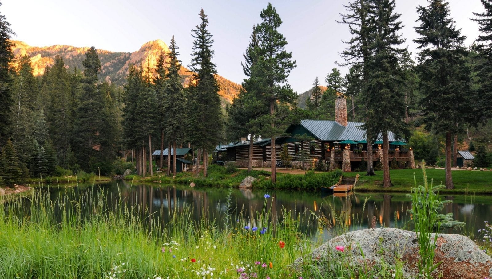 Image of the Ranch at Emerald Valley part of the Broadmoor in Colorado