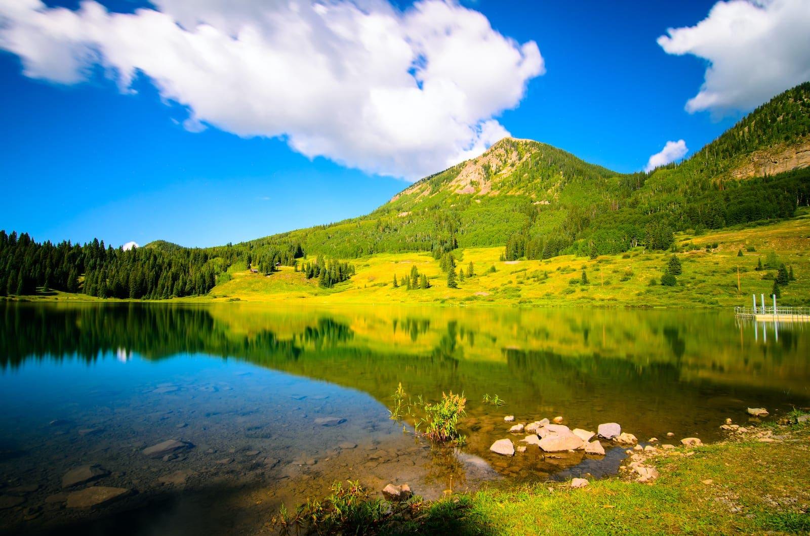 Trout Lake near Telluride Colorado