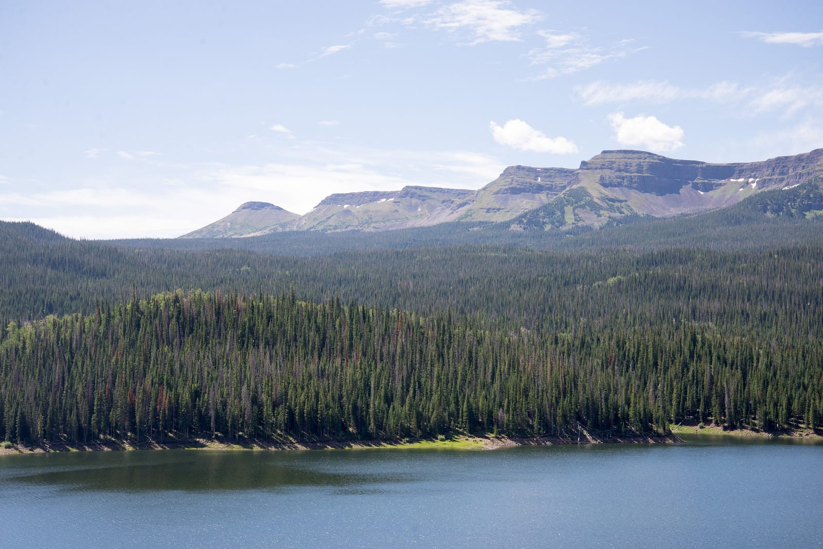Flattops and Yamcolo Reservoir Colorado