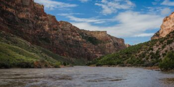 Image of the Yampa River flowing through a canyon in Colorado