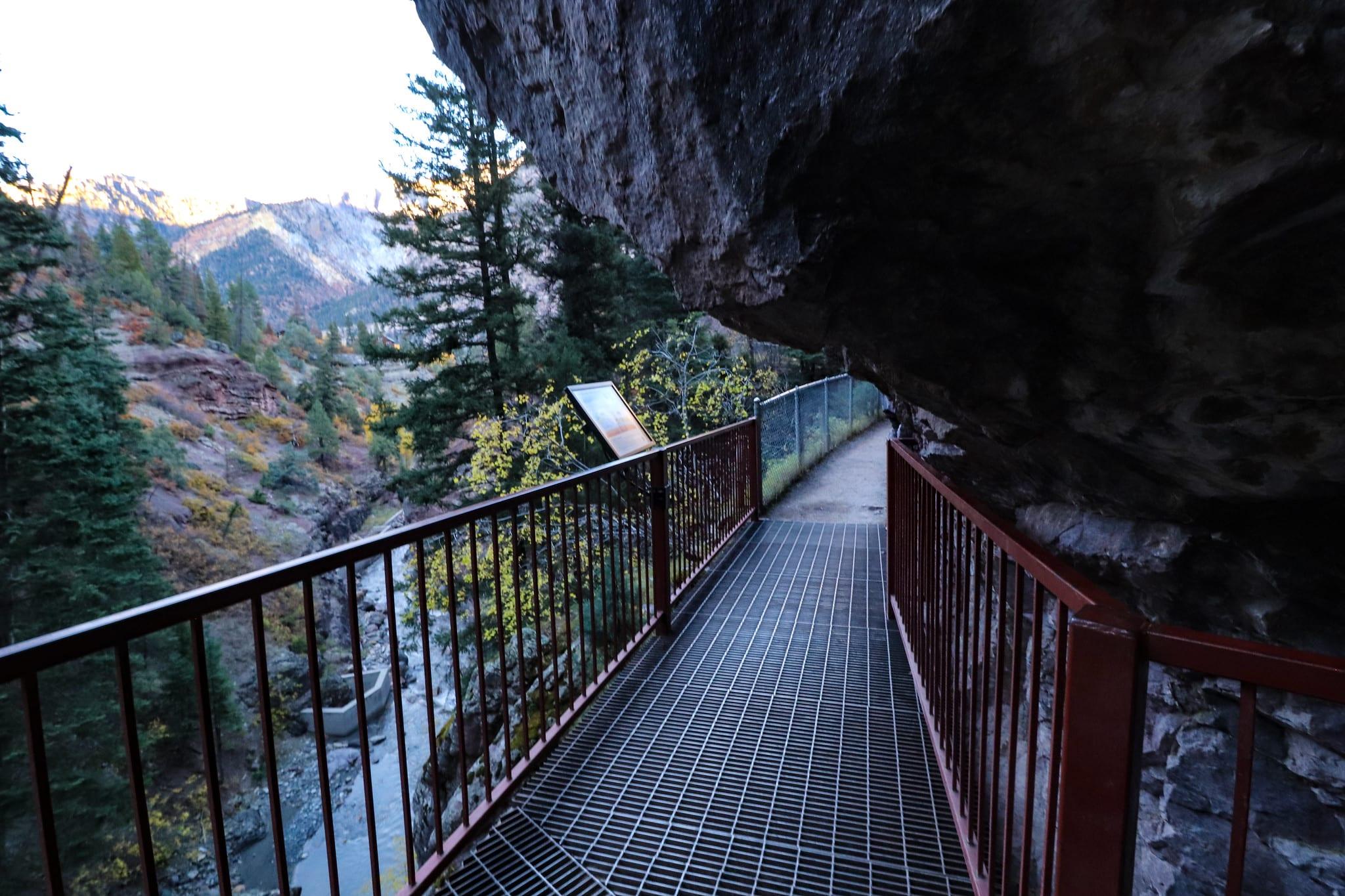 image of box canyon falls park