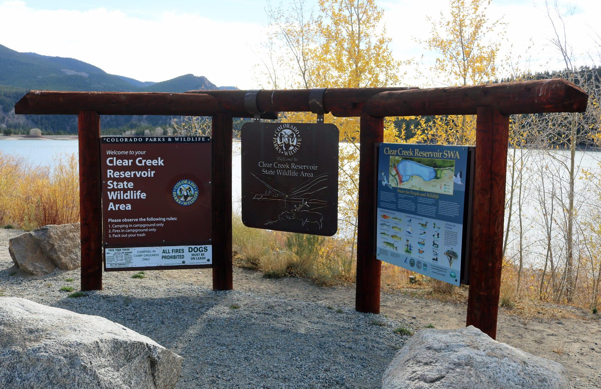 image of Clear Creek Reservoir