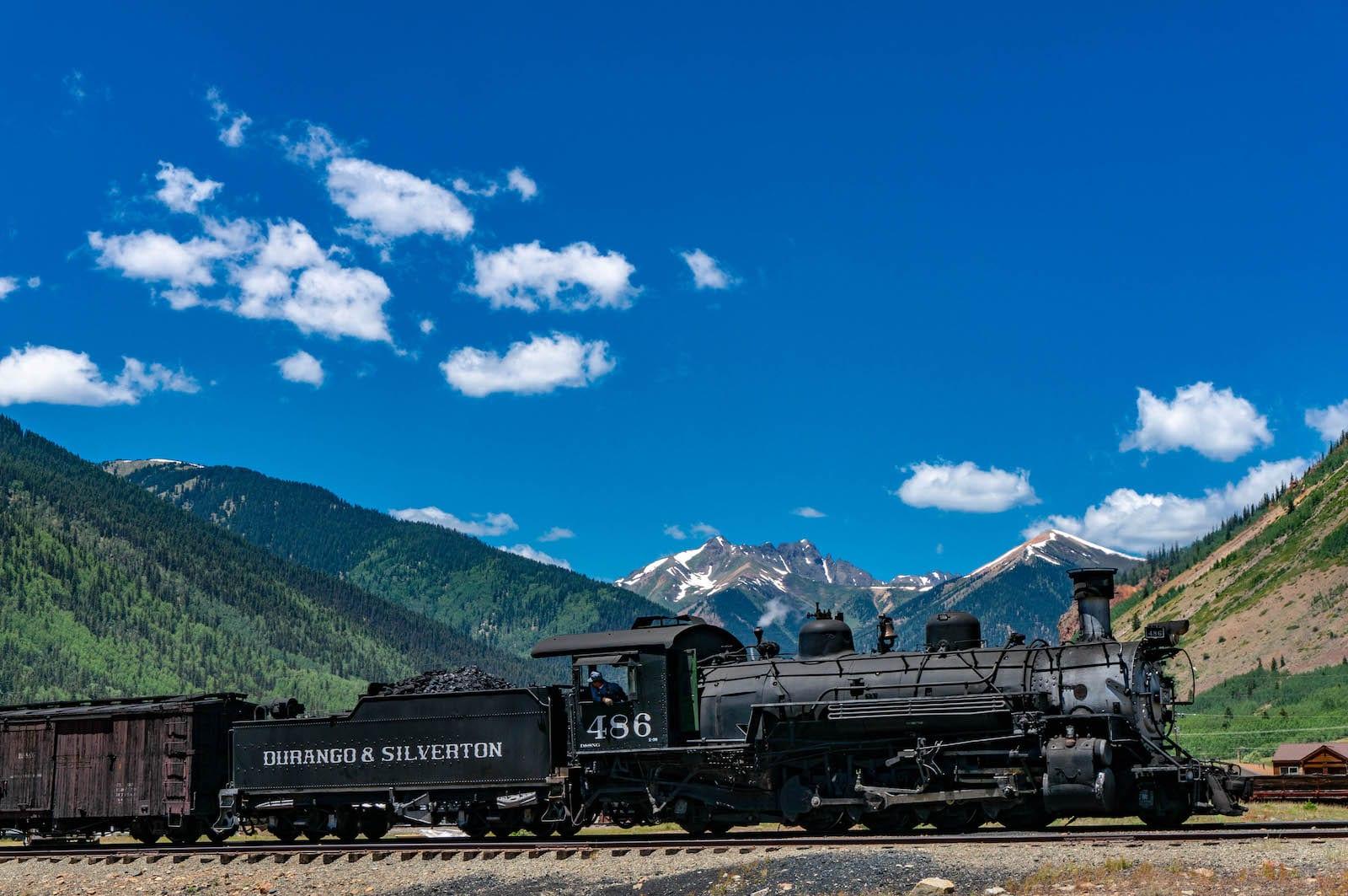 Durango-Silverton train, CO
