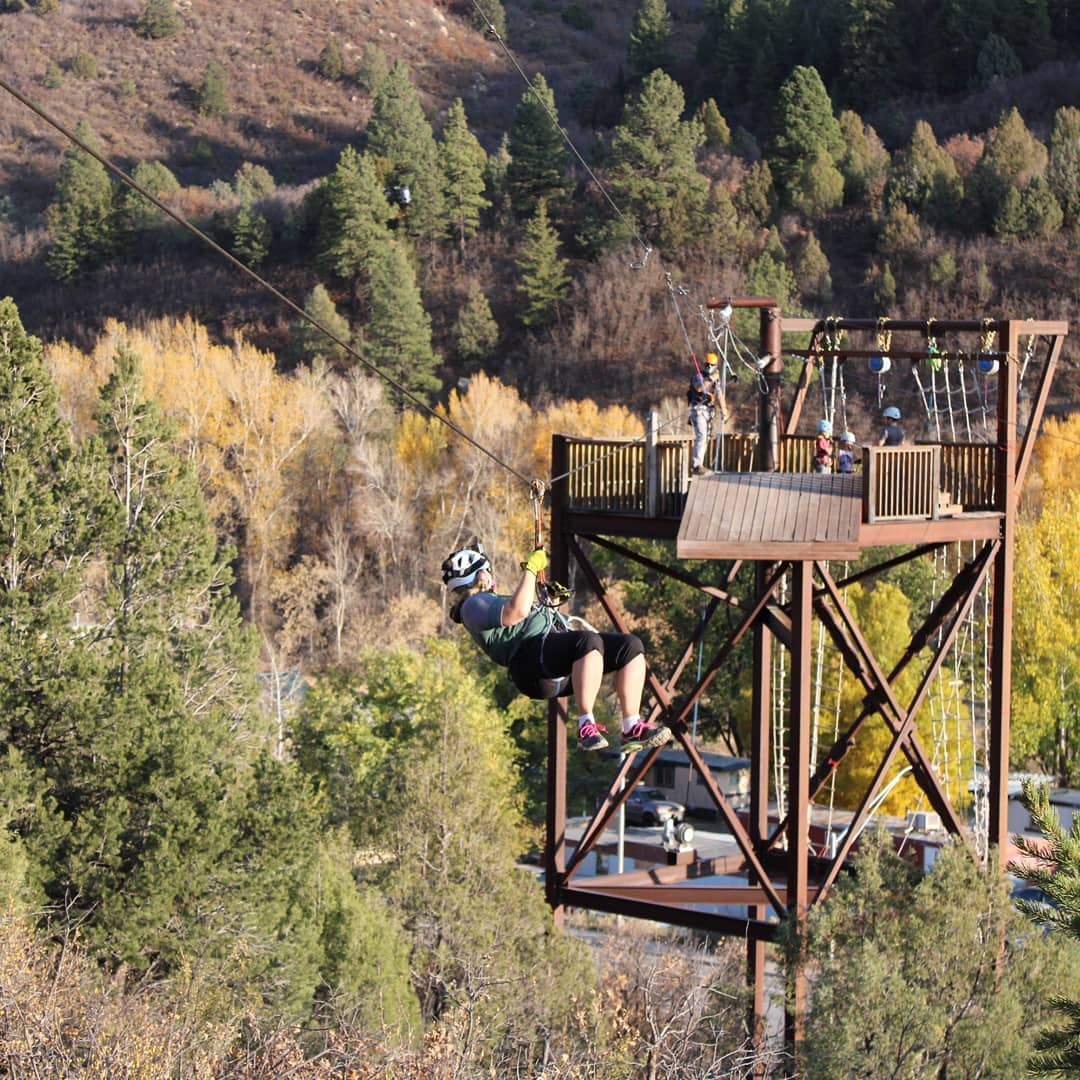 image of durango adventures zipline