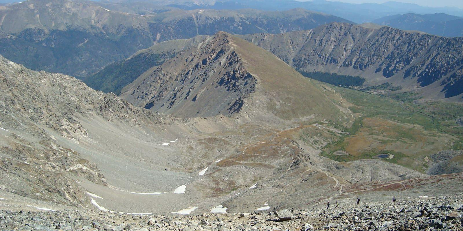 Grays Peak Trail, Front Range, Colorado