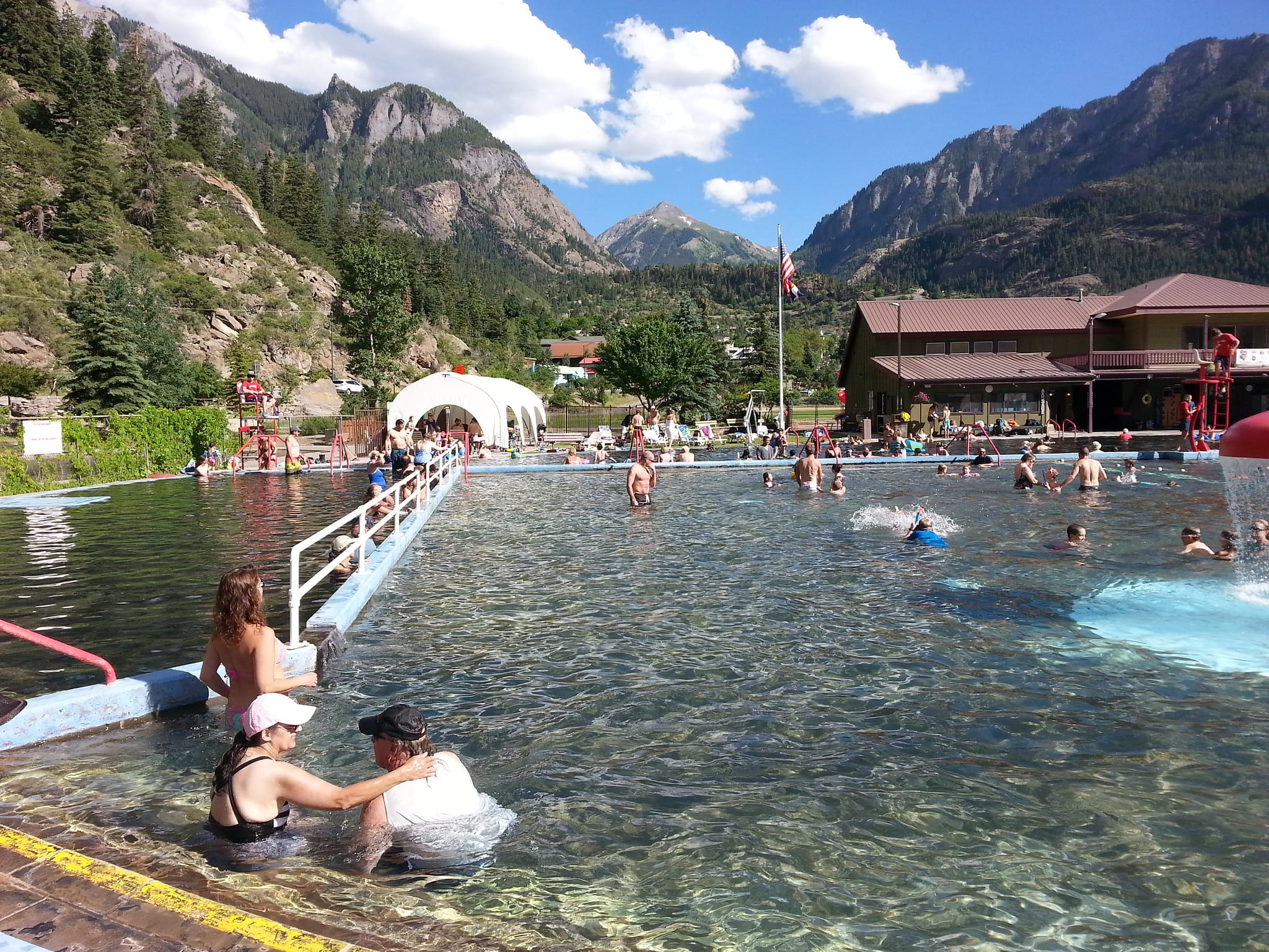 image of ouray hot springs pool