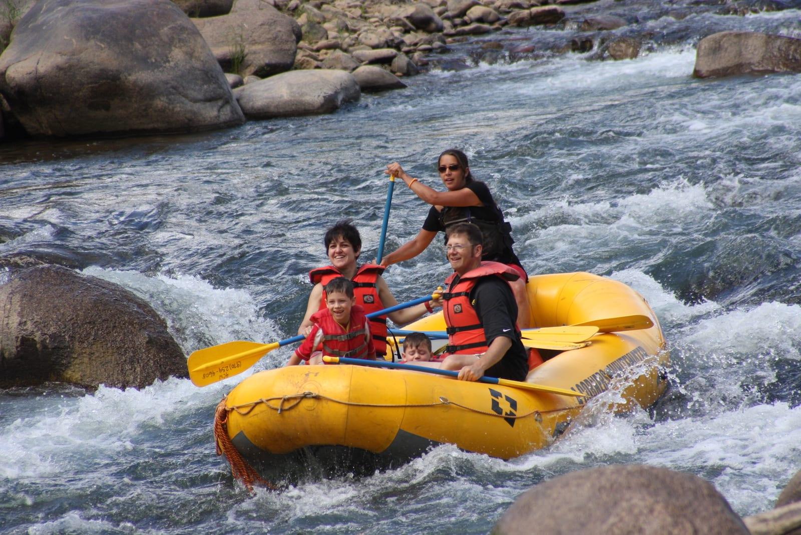 Rafting on the Lower Animas River