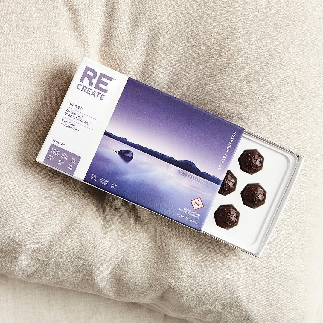Image of ReCreate Cannabis dark chocolate