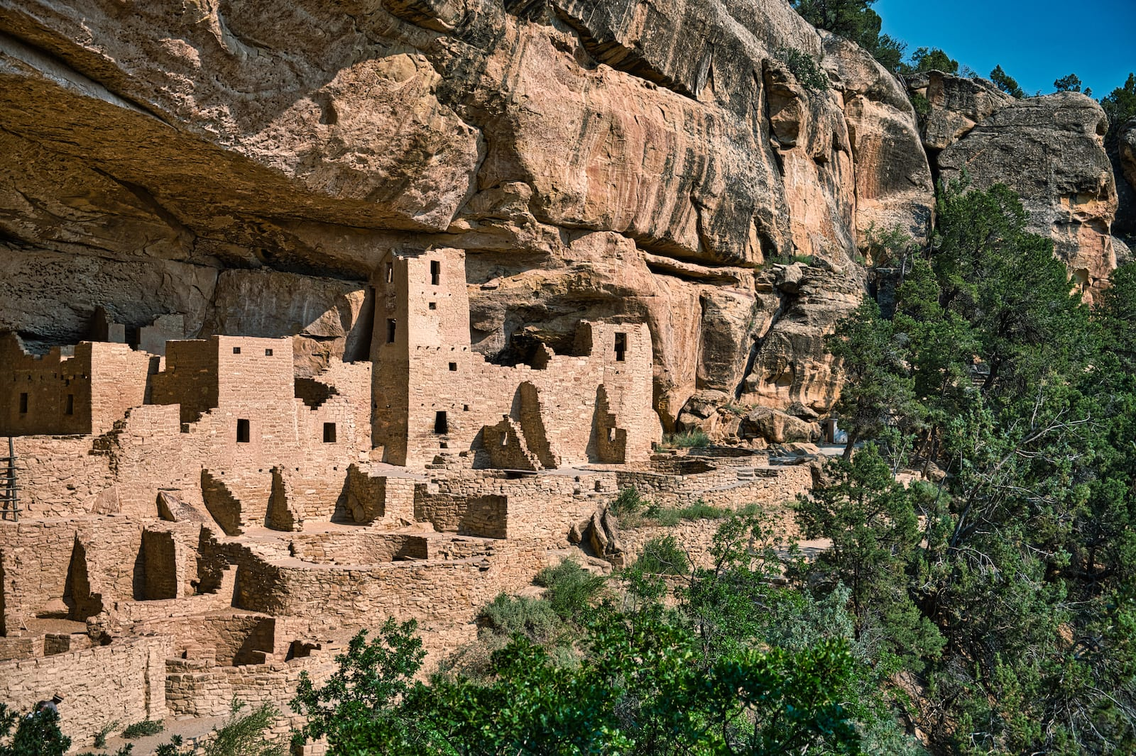The Mesa Verde National Park, CO