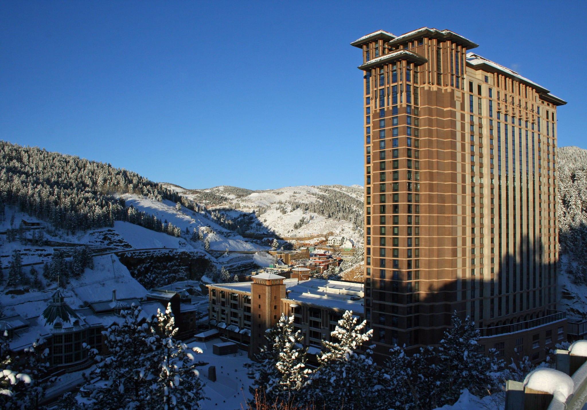 image of ameristar casino in Black hawk