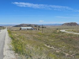 Image of the Antero Junction, a ghost town, in Colorado