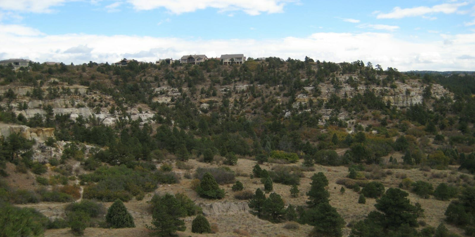 Image of the Austin Bluffs Open Space in Colorado Springs, Colorado