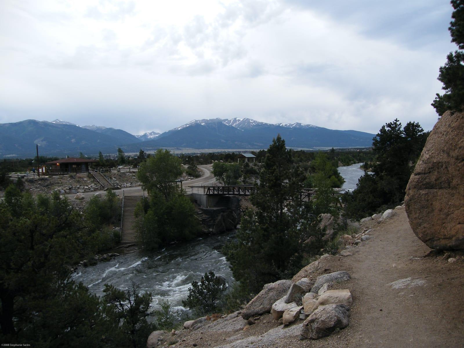 River Park, Barbara Whipple Trail Mendaki Buena Vista CO