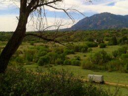 Image overlooking Bear Creek Regional Park in Colorado Springs, Colorado