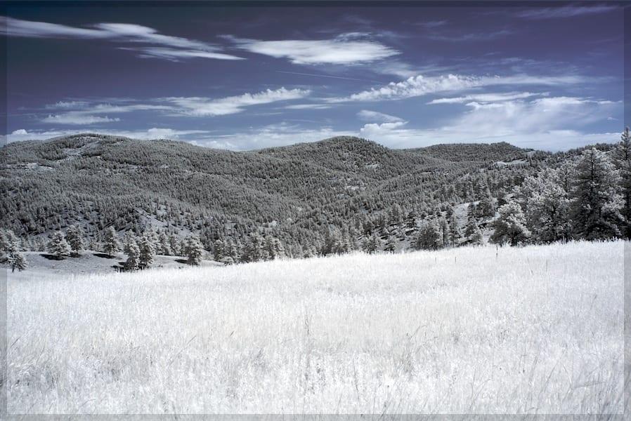 Betasso Preserve Infrared Boulder CO