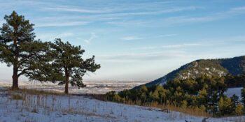 Betasso Preserve hiking trail Boulder CO