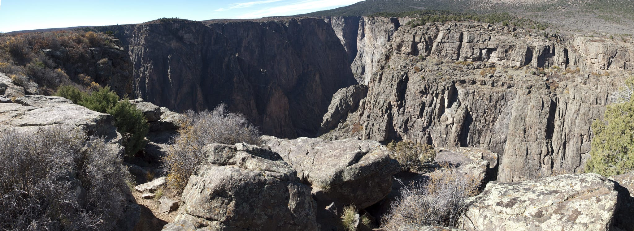 Black Canyon of the Gunnison Panorama