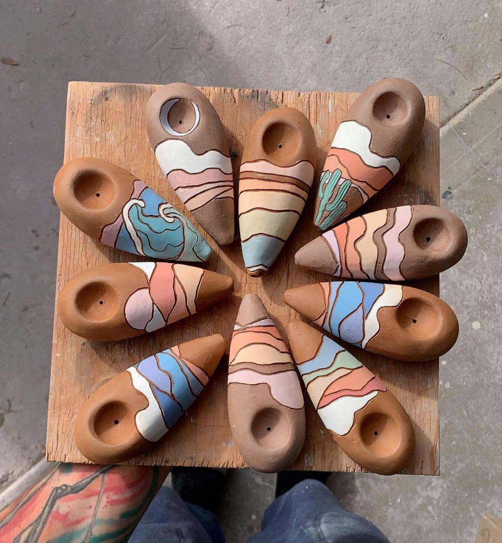 Image of Callahan Ceramics' pipes